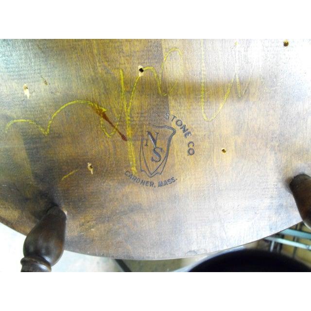 Nichols & Stone Arm Chairs - Set of 4 - Image 8 of 8