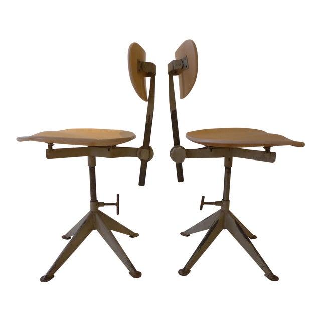 Odelberg Olsen Work Chairs - Image 1 of 11
