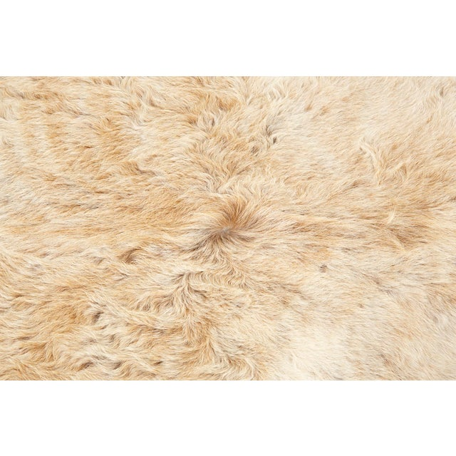 """champagne cowhide Brazil 78 ½"""" h x 74 ⅛"""" w we offer free 2-day shipping in the Continental U.S. on all hides"""