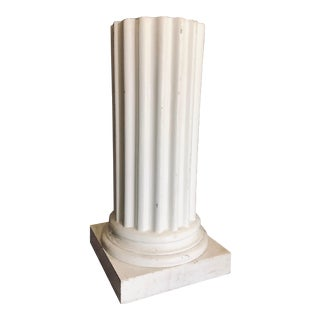 1980s Vintage Mold Form Pedestal For Sale