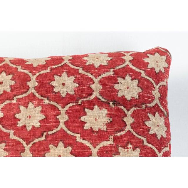 Asian Indian Kalamkari Pillow For Sale - Image 3 of 5