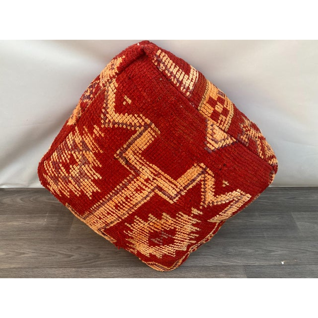 This comfortable pillow in natural red with boujaad pattern will bring a relaxing mood to your everyday home. If you wish...