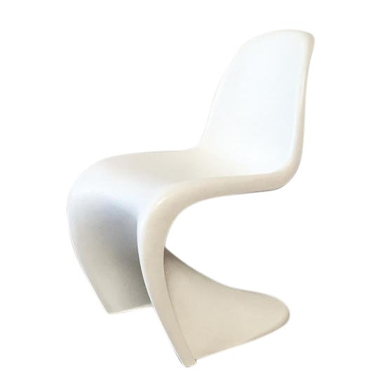 Vitra White 'Panton' Dining Chair - Image 1 of 4