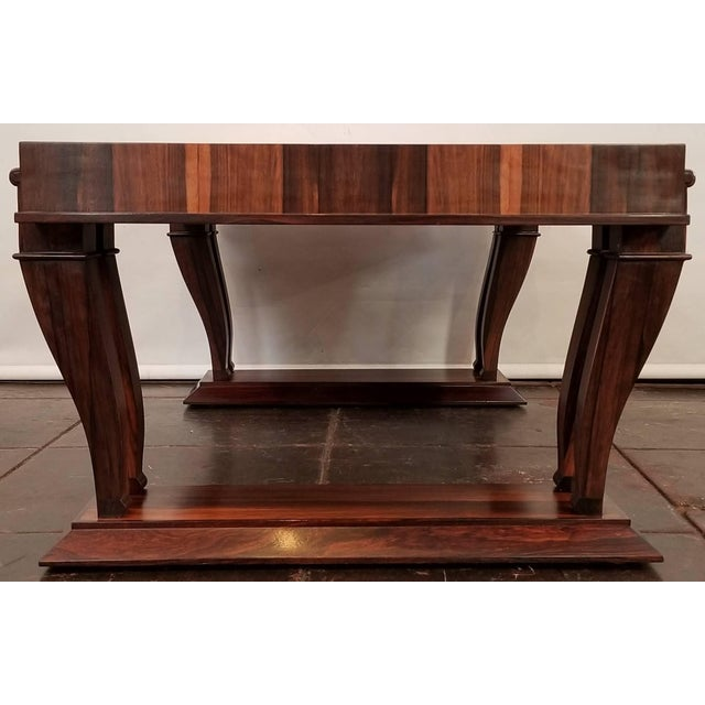 Wood Traditional Style Bolivian Rosewood Coffee Table For Sale - Image 7 of 10