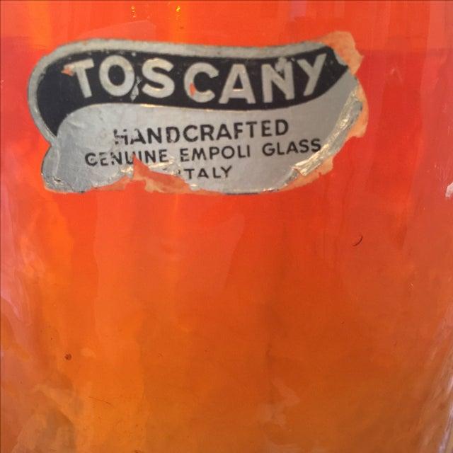 Empoli Glass Vase - Image 4 of 7