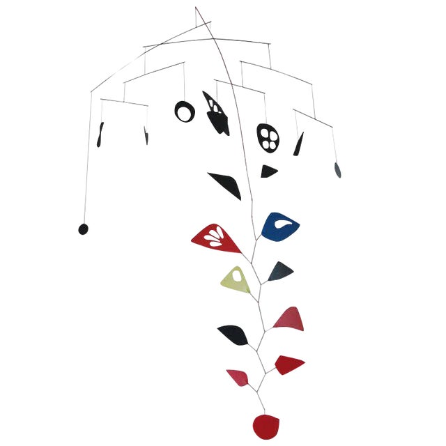 Hanging Mobile in the Manner of Calder - Image 1 of 5