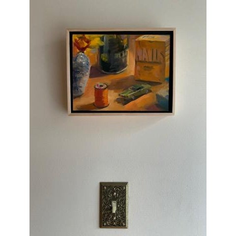 Impressionist Still Life Take 2 Oil Painting For Sale - Image 3 of 7