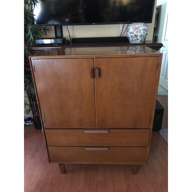 Mid Century Modern Edward Wormley for Dunbar Gentleman's Chest For Sale - Image 11 of 13