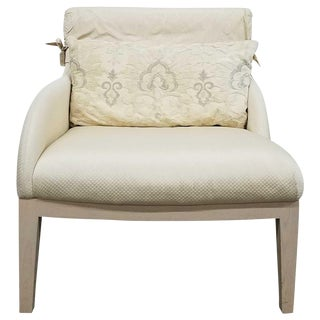 John Saladino Regent Armchair For Sale