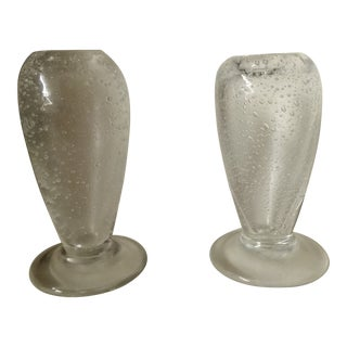 French Cabinet Bubble Bud Vases - a Pair For Sale