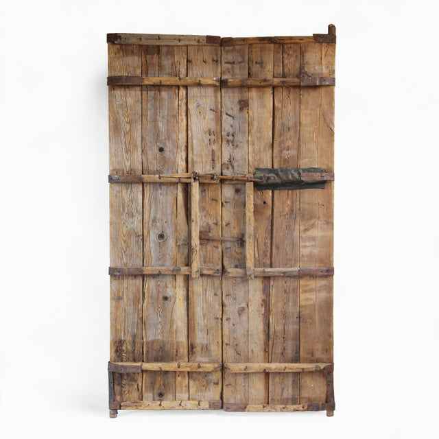 Old Chinese Wood Door - Image 5 of 7