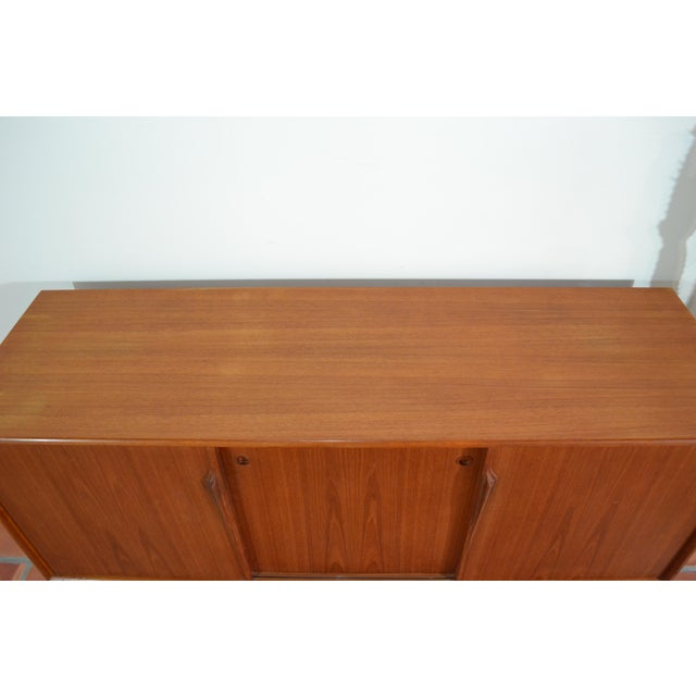 Gunni Omann Mid-Century Danish Teak Credenza For Sale - Image 5 of 10