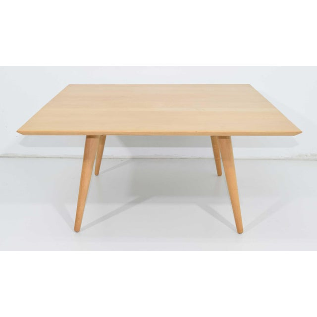 Contemporary Paul McCobb Planner Group Maple Coffee Tables - a Pair For Sale - Image 3 of 11