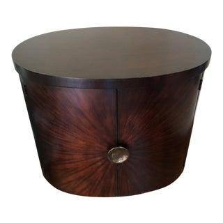 Art Deco Henredon Side Table Cabinet For Sale