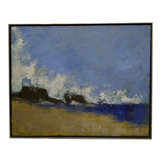 "Frederick McDuff ""Ocean Spray"" Original Framed Painting on Canvas"