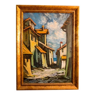 Post-Impressionism Acrylic House Painting
