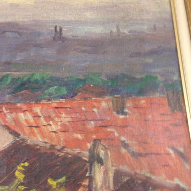 Original Italy Landscape Oil Painting For Sale In New York - Image 6 of 7