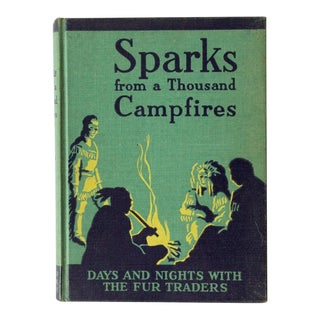 "1947 Vintage ""Sparks From a Thousand Campfires"" School Book For Sale"