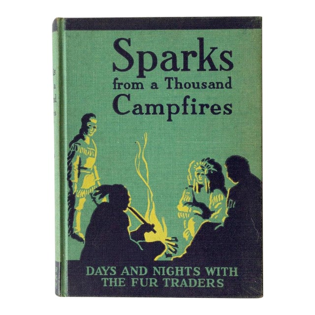 """1947 Vintage """"Sparks From a Thousand Campfires"""" School Book For Sale"""