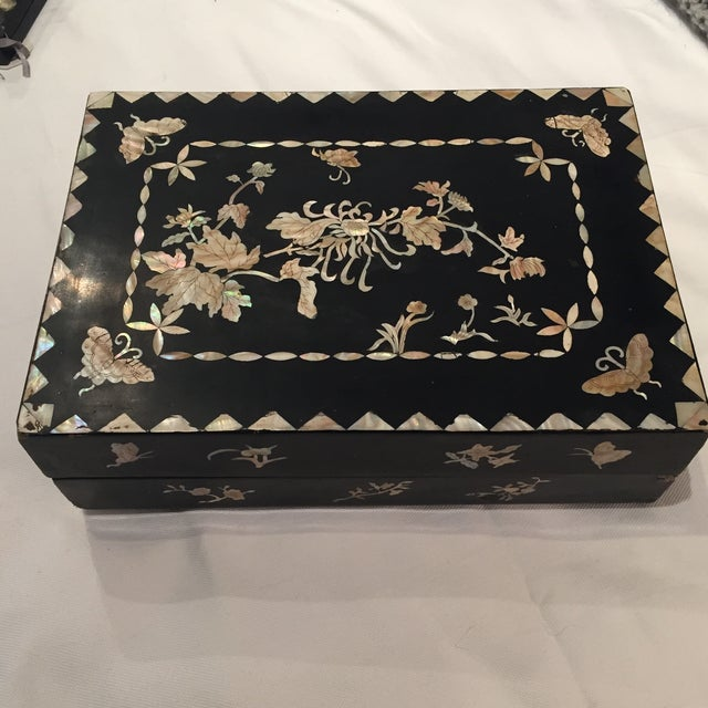 Mother of Pearl Decorative Box - Image 2 of 6