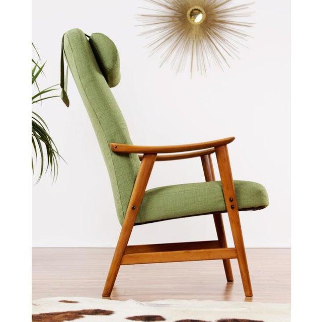 Mid-Century Modern Dokka Mobler Restored Arm Chair - Image 9 of 10