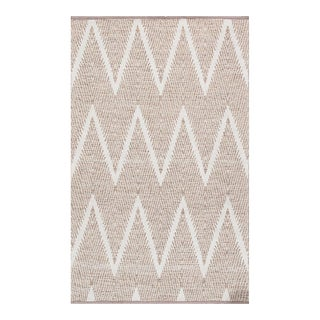 "Pasargad Simplicity Hand-Woven Cotton Rug- 5' 0"" X 8' 0"" For Sale"