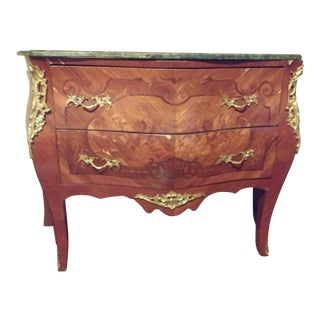 1950s French Bombe Commode For Sale