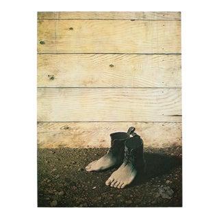 "1972 Rene Magritte, ""The Red Model 2"" Original Photogravure For Sale"