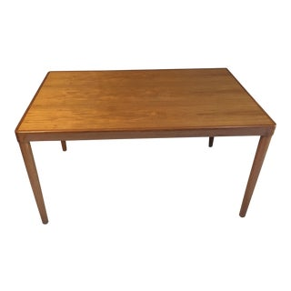 20th Century Danish Modern Vejle Stole Og Mobelfabrik Teak Danish Dining Table For Sale