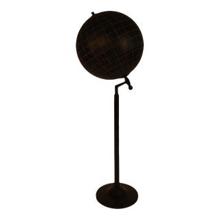 Aviation Training Globe on Steel Stand From Paris For Sale