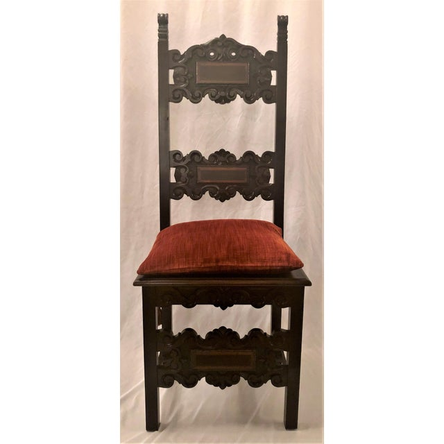 Set of 14 Antique English Oak Renaissance Dining Chairs, Circa 1880. For Sale In New Orleans - Image 6 of 6