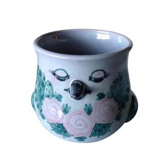 Scandinavian Bjorn Wiinblad Studio Pottery Vase