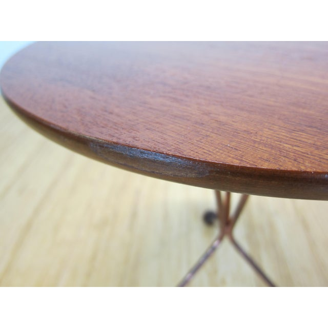"1950s Larssons Möbelfabrik ""Table in a Jar"" Side Table For Sale - Image 11 of 13"