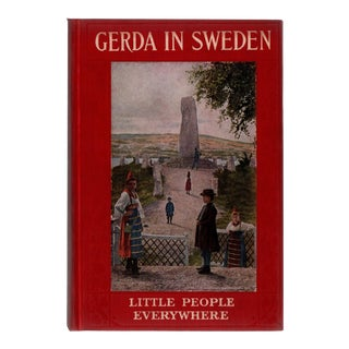 "1917 ""Gerda In Sweden"" Collectible Book For Sale"