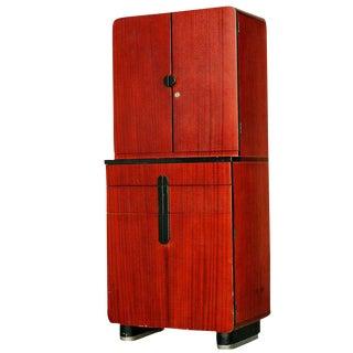 Donald Deskey Bar Cabinet for Hamilton Company For Sale
