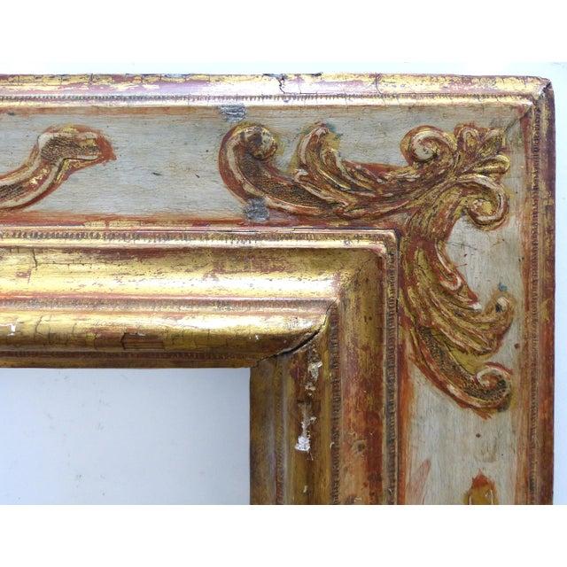 Baroque 17th Century European Gilt-Wood Frame - Image 4 of 9
