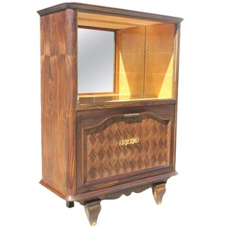 1940s French Art Deco Dry Bar For Sale
