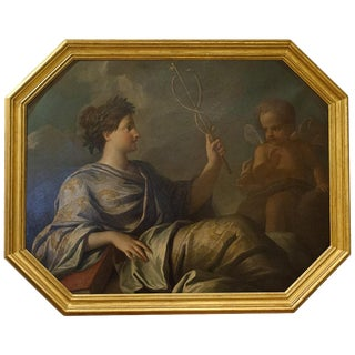 'Peace' Oil Painting on Canvas, England, Circa 1825 For Sale