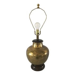 Vintage Frederick Cooper Brass Lamp For Sale