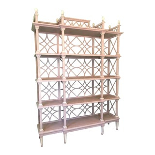 Large Chinese Chippendale Etagere For Sale