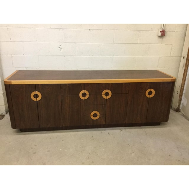 You know your yacht needs a credenza! Here it is! We think this was a custom piece, possibly made in the 80s. It it...