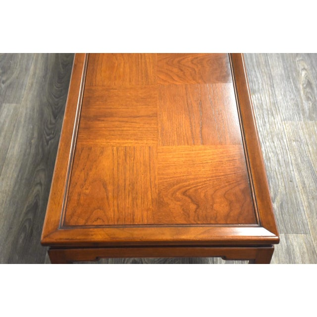 Mid Century Walnut Coffee Table For Sale - Image 4 of 10