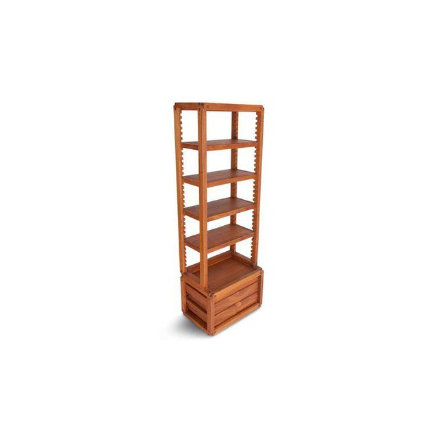 Mid-Century Modern Rare Adjustable French Library by Pierre Chapo For Sale - Image 3 of 12