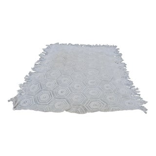 Hand Crocheted Bedspread For Sale