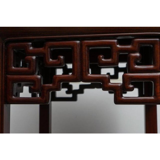 1980s Chinese Rosewood Pedestals For Sale - Image 5 of 13