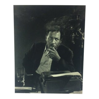 "Black & White Print on Paper, ""Tennessee Williams"" by Yousuf Karsh, 1967 For Sale"
