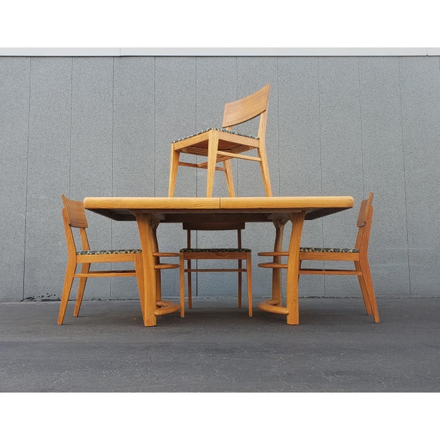 1950s 1950s Mid Century Dining Set - 5 Pieces For Sale - Image 5 of 5