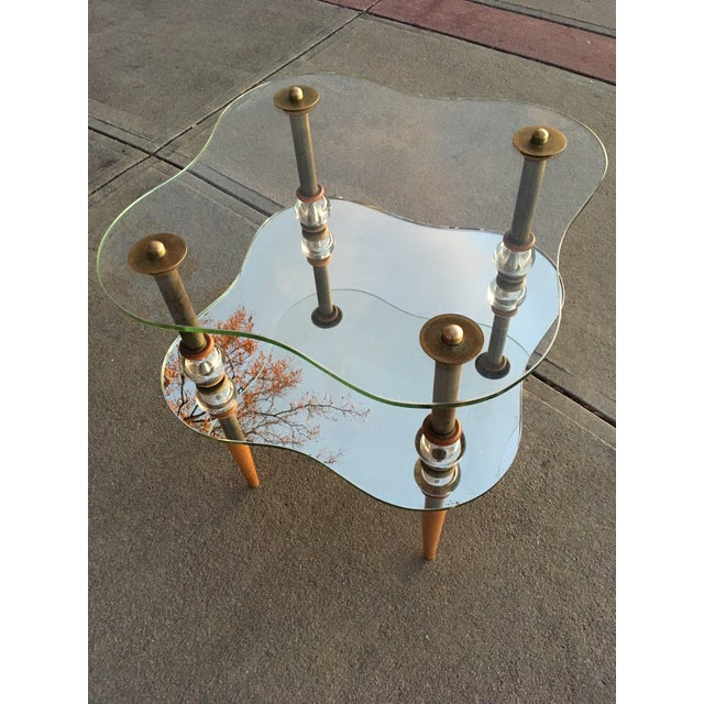 Mid-Century Modern Cloud Table Manner of Gilbert Rhode For Sale - Image 9 of 13