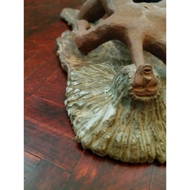 Vintage Mid-Century Abstract Nude Woman Sculpture Statue For Sale In Phoenix - Image 6 of 9