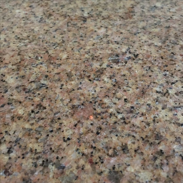 "Room & Board 36"" Round Granite Table Top Only - Image 3 of 4"
